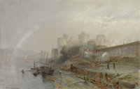 The Hon. Paul H. Buchanan Collection  WILLIAM TROST RICHARDS (American, 1833-1905) Conway Castle, Wales</