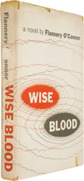 Books:First Editions, Flannery O'Connor. Wise Blood. New York: Harcourt, Brace andCompany, 1952....
