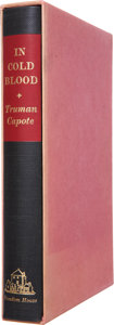 Books:Signed Editions, Truman Capote. In Cold Blood. New York: Random House,[1965]....