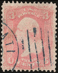 Stamps, 3c Pigeon Blood Pink (64a),...