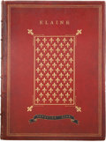 Books:Fiction, [Gustave Doré, illustrator]. Alfred Tennyson. Elaine. London: Edward Moxon and Co., 1867....