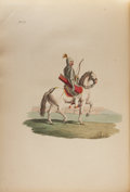 Books:Non-fiction, [Hand-colored Plates]. Costume of the Russian Empire.London: J. Stockdale, 1810....