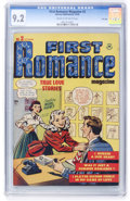 Golden Age (1938-1955):Romance, First Romance #2 File Copy (Harvey, 1949) CGC NM- 9.2 Cream tooff-white pages....