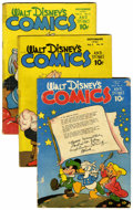 Golden Age (1938-1955):Cartoon Character, Walt Disney's Comics and Stories Group (Dell, 1945-55).... (Total:30 Comic Books)