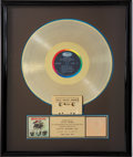 Music Memorabilia:Awards, Beatles '65 RIAA Gold Album Award....