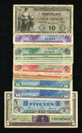 Military Payment Certificates:Series 681, Series 681 $5 Extremely Fine.... (Total: 18 notes)