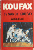Autographs:Others, Sandy Koufax Signed Book. ...