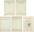 Books:First Editions, William Carlos Williams. Paterson (Books 1 - Five).New York: A New Directions Book, 1946, 1948, 194... (Total: 5Items)
