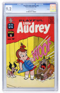 Silver Age (1956-1969):Humor, Playful Little Audrey #35 File Copy (Harvey, 1961) CGC NM- 9.2 Off-white to white pages....