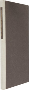 Books:First Editions, James H. Fraser. The Paste Papers of the Golden Hind Press.Madison: Tideline Press, 1983. First edition. One of...