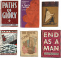 Books:First Editions, Six First Editions, including: Humphrey Cobb. Paths ofGlory. [and:] Frederick Exley. A Fan's Notes... (Total: 6Items)