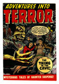 Golden Age (1938-1955):Horror, Adventures Into Terror #43 (#1) (Atlas, 1950) Condition: FN/VF....