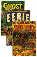 Golden Age (1938-1955):Horror, Miscellaneous Pre-Code Horror Group (Various Publishers, 1953-54)Condition: Average GD+.... (Total: 7 Comic Books)