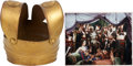Movie/TV Memorabilia:Props, Samson and Delilah Costume Breastplate.... (Total: 2 Items)
