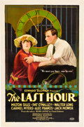 "Movie Posters:Crime, The Last Hour (Mastodon, 1923). One Sheet (27"" X 41"").. ..."
