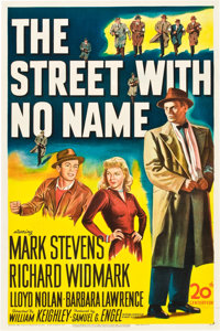 """The Street with No Name (20th Century Fox, 1948). One Sheet (27"""" X 41"""")"""