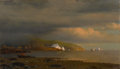 American:Hudson River School, The Hon. Paul H. Buchanan, Jr. Collection. WILLIAM BRADFORD(American, 1823-1892). Near Cape St. Johns, Coast ofLabrado...