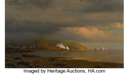 The Hon. Paul H. Buchanan, Jr. CollectionWILLIAM BRADFORD (American, 1823-1892)Near Cape St. Johns, Coast of Labrado...