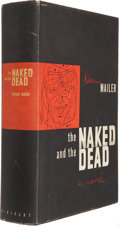 Books:First Editions, Norman Mailer. The Naked and the Dead. New York: Rinehartand Company, [1948]. First edition in first state dust...