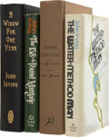 Books:First Editions, John Irving. Four First Editions, One Signed, including: TheWater-Method Man. [and:] The 158-Pound Marriage....(Total: 4 Items)