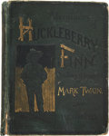 Books:First Editions, Mark Twain. Adventures of Huckleberry Finn (Tom Sawyer'sComrade). With One Hundred and Seventy-Four Illustrations. ...