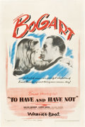 "Movie Posters:Romance, To Have and Have Not (Warner Brothers, 1944). One Sheet (27"" X41"").. ... (Total: 2 Items)"