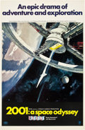 "Movie Posters:Science Fiction, 2001: A Space Odyssey (MGM, 1968). One Sheet (27"" X 41"") Style A""Cinerama"".. ..."
