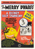 "Movie Posters:Animated, The Merry Dwarfs (Columbia, 1929). One Sheet (27"" X 41"").. ..."