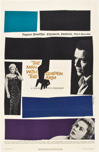 "The Man with the Golden Arm (United Artists, 1955). One Sheet (27"" X 41"")"