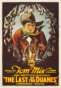 "Movie Posters:Western, The Last of the Duanes (Fox, 1924). One Sheet (27"" X 41"").. ..."