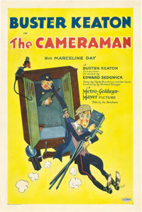 "The Cameraman (MGM, 1928). One Sheet (27"" X 41"")"