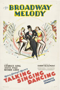 "Movie Posters:Musical, The Broadway Melody (MGM, 1929). One Sheet (27"" X 41"").. ..."