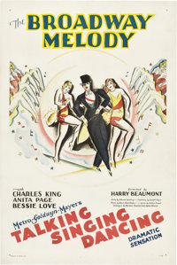 "The Broadway Melody (MGM, 1929). One Sheet (27"" X 41"")"