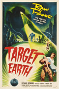 """Movie Posters:Science Fiction, Target Earth (Allied Artists, 1954). One Sheet (27"""" X 41"""").. ..."""
