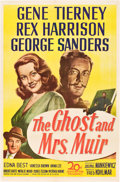 "Movie Posters:Romance, The Ghost and Mrs. Muir (20th Century Fox, 1947). One Sheet (27"" X41"").. ..."