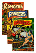 Golden Age (1938-1955):War, Rangers Comics #33, 63, and 67 Group (Fiction House, 1947-52)....(Total: 3 Comic Books)