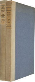 Books:First Editions, Two Signed Books by Edna St. Vincent Millay including Huntsman,What Quarry? New York: Harper & Brothers, 1939. Limi...(Total: 2 Items)