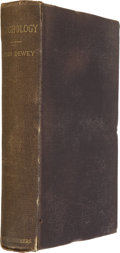 Books:First Editions, John Dewey. Psychology. New York: Harper and Brothers, 1887.First edition of this vastly important book. Octavo. Pu...