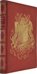 Books:First Editions, Gustave Doré [illustrator]. Aventures du Baron Münchhausen.Paris: Charles Furne, [1862]. First edition of one o...
