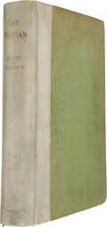 Books:First Editions, George de Maurier. The Martian. A Novel. London and NewYork: Harper & Brothers, 1898. Limited edition of 250 nu...