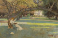 American:Impressionism, The Hon. Paul H. Buchanan, Jr. Collection. JOHN HERBERT EVELYNPARTINGTON (American, 1843-1899). The Havens' Estate, Pie...