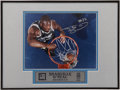 Basketball Collectibles:Photos, Shaquille O'Neal and Penny Hardaway Signed Photographs. ... (Total:2 items)