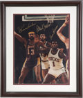 Basketball Collectibles:Photos, Basketball Greats Signed Photograph. ...