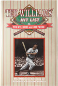 Autographs:Others, Ted Williams Signed Book....