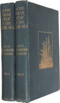 "Books:First Editions, Luigi Amedeo of Savoy. On the ""Polar Star"" in the ArcticSea. London: Hutchinson & Co., 1903. First UK edition. ...(Total: 2 Items)"