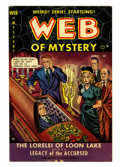 Golden Age (1938-1955):Horror, Web of Mystery #2 (Ace, 1951) Condition: VG/FN....