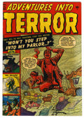 Golden Age (1938-1955):Horror, Adventures Into Terror #44 (#2) (Atlas, 1951) Condition: VF....