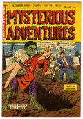 Golden Age (1938-1955):Horror, Mysterious Adventures #4 Mile High pedigree (Story Comics, 1951)Condition: NM-....