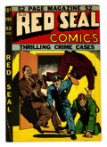 Golden Age (1938-1955):Crime, Red Seal Comics #21 (Chesler, 1947) Condition: VG/FN....