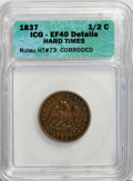 1837 1/2 C Hard Times Token--Corroded--XF40 ICG. XF40 Details. Rulau HT#73. NGC Census: (0/0). PCGS Population (0/0)...